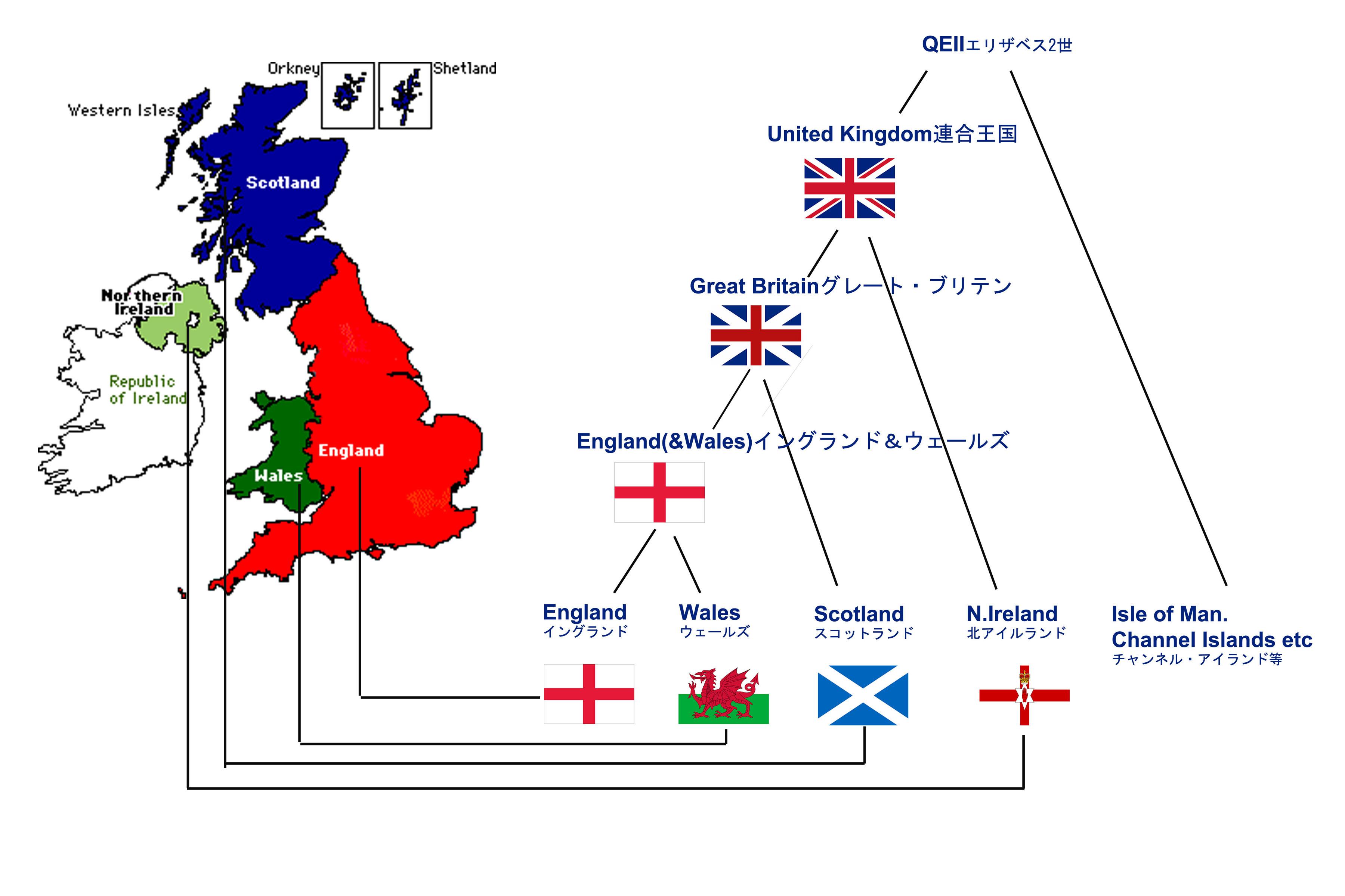 グレート ブリテン 及び 北 アイルランド 連合 王国 イギリスの地理 - Wikipedia