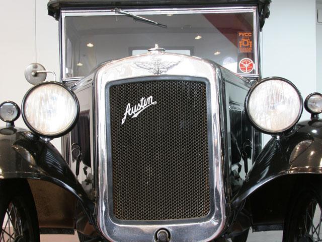 Rover MINI Austin Seven Convertible オースチン セブン コンバーチブル 紺ツートン