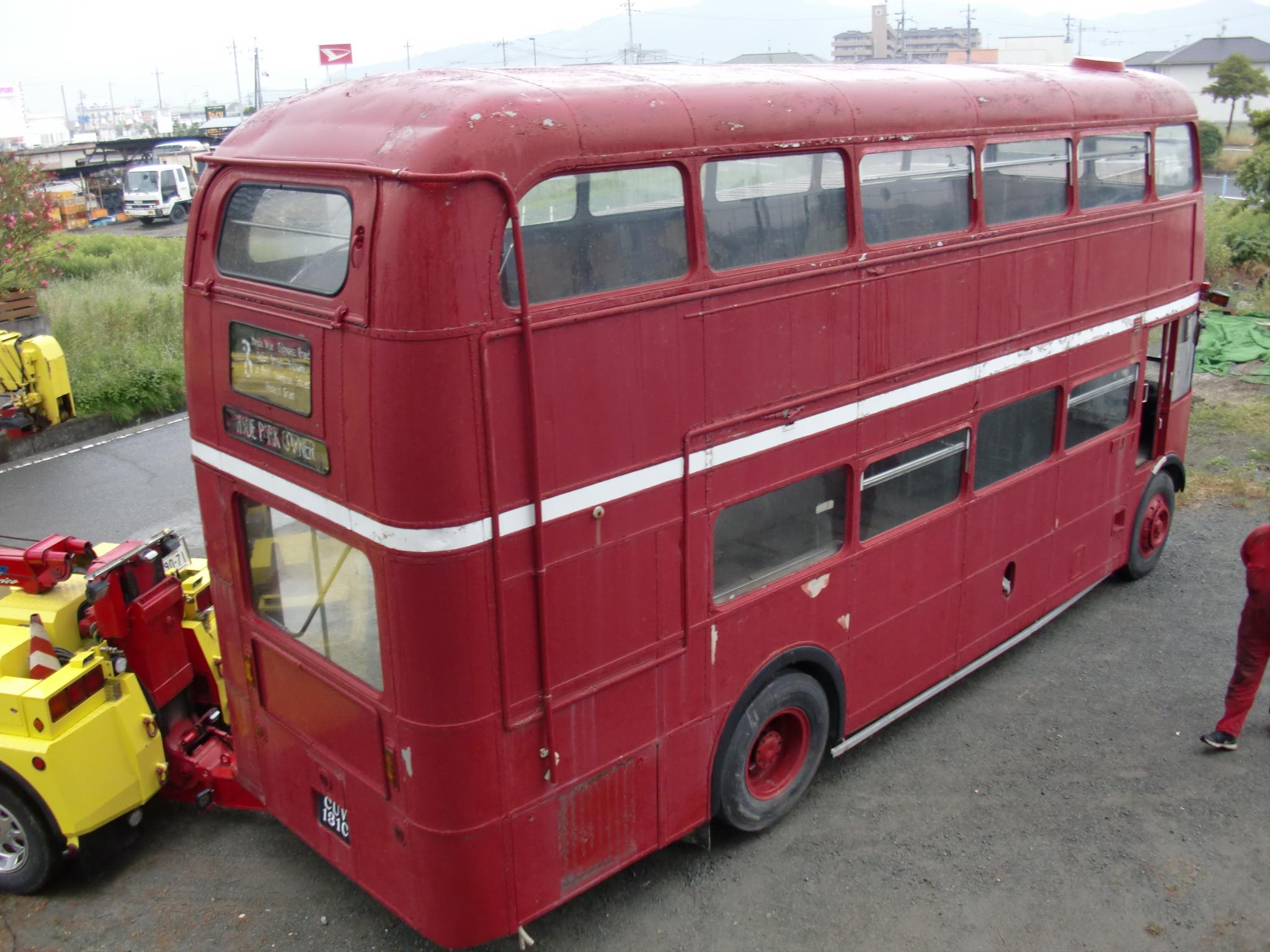 Routemaster ルートマスター ロンドン ダブルデッカーバス