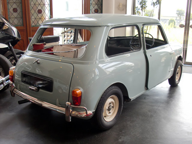 Morris Mini Sprint MK-1 モーリスミニ スプリント MK-1 ツイードグレー