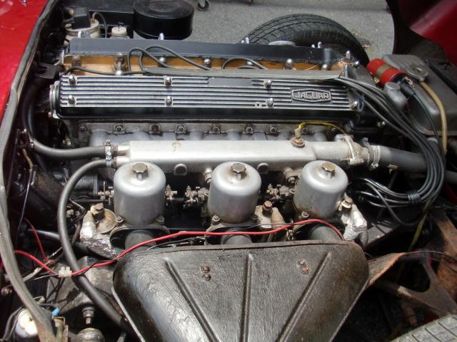 Jaguar E Series ジャガーEタイプ シリーズ1 1/2