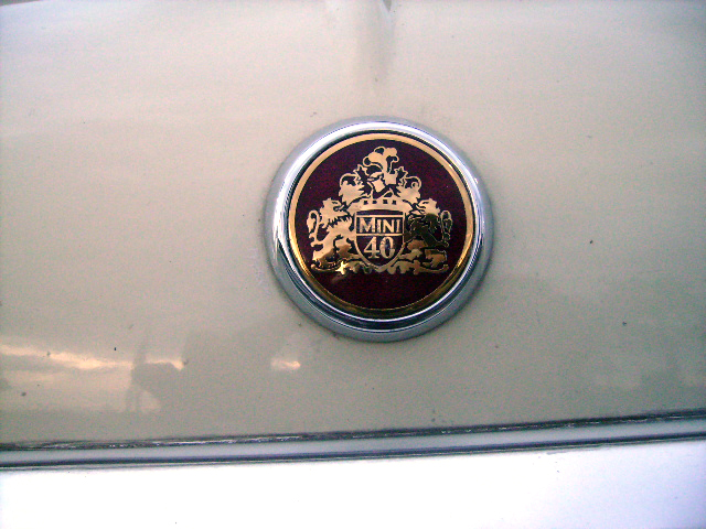 Rover Mini ローバー ミニ 40TH アニバーサリー オールドイングリッシュホワイト