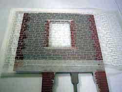 ドールハウス用外壁材 2色目1