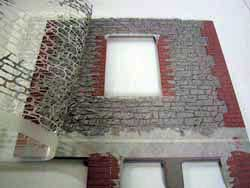 ドールハウス用外壁材 2色目3