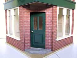ドールハウス用外壁材 2色3