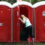 イギリスの仮設トイレ