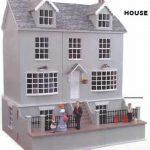 DH003 コップフォードハウス/Copford House ドールハウスキット