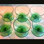アイスクリームグラス グリーン (6個セット)