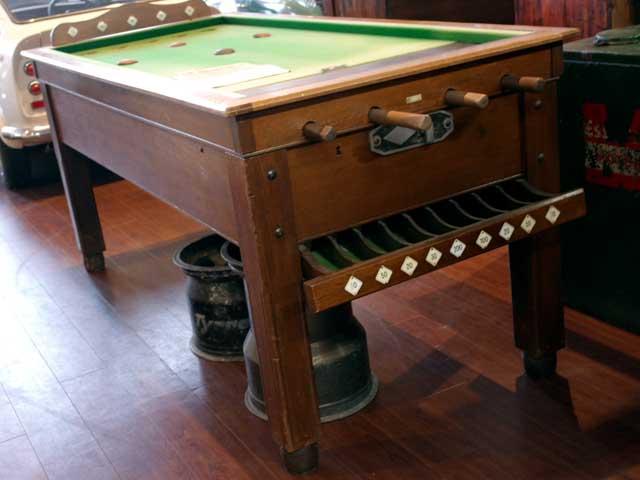 ゲームテーブル