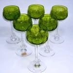 グラス ワイングラス ライムグリーン(6ヶ)セット