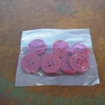 ボタン レッド 8個セット