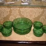 グリーンガラスボールセット 大1、小6