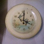 Smith 掛時計 (故障品、飾り用)