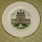 特集 Wedgewood 飾り用プレート (Watercolours of castles and country houses)