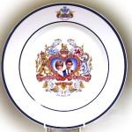 英国王室ロイヤルファミリー プレート ダイアナ&チャールズ