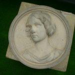 壁飾り 女性