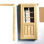 ドールハウスキット 玄関ドア